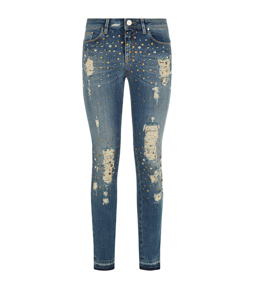 And nine years later, Bethenny Frankel expanded the brand with the launch of her new jeans collection. The year-old entrepreneur sported black skinny jeans from her brand at the launch, which took place on Wednesday at Macy's in New York City.
