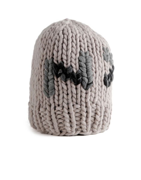 Wool and the gang ny beanie in natural lyst - Gang and the wool ...