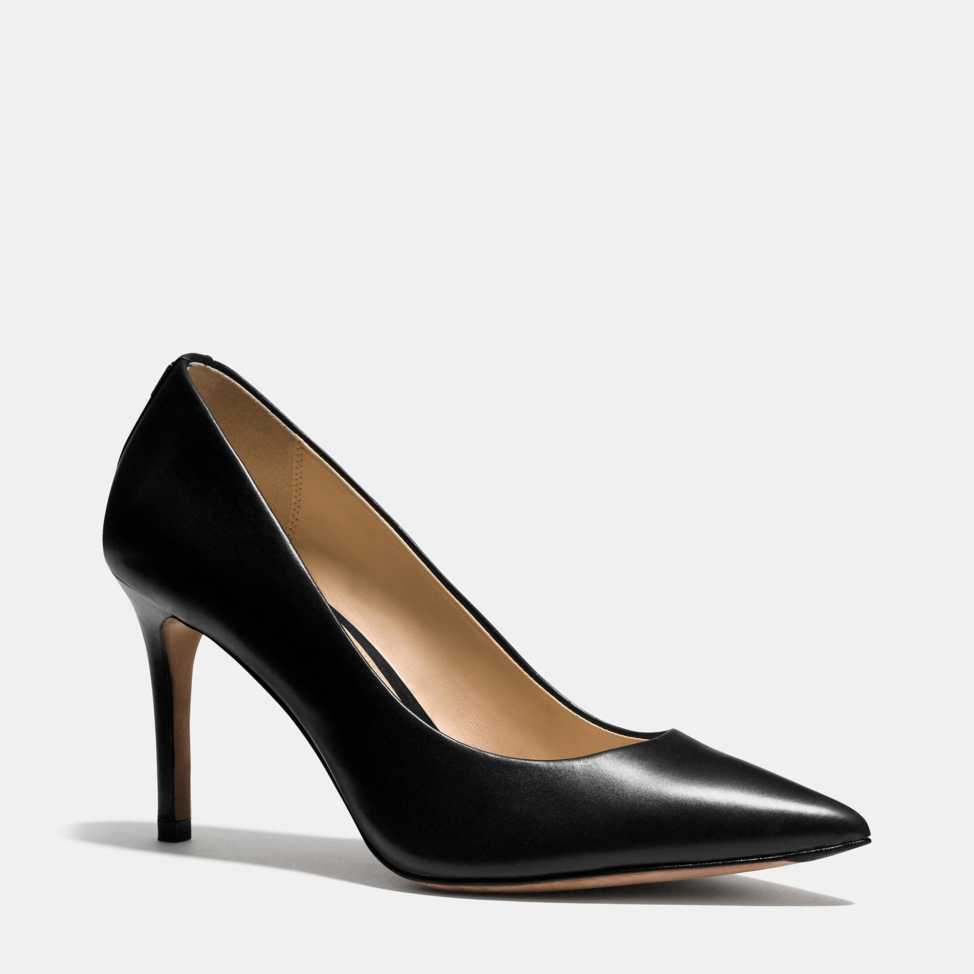Lyst - Coach Smith Heel in Black