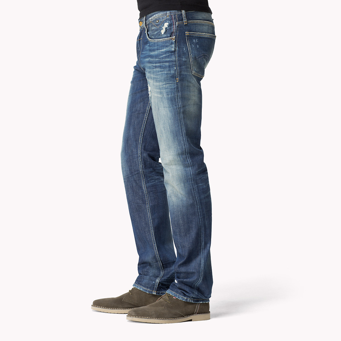 3616f15f Tommy Hilfiger Ryan Straight Fit Jeans in Blue for Men - Lyst