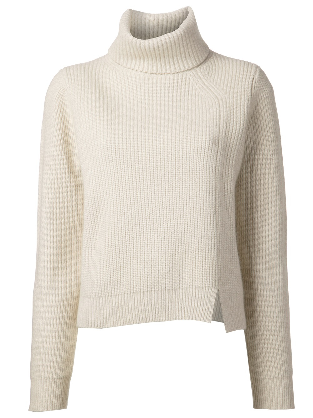 Proenza schouler Turtleneck Sweater in Natural | Lyst