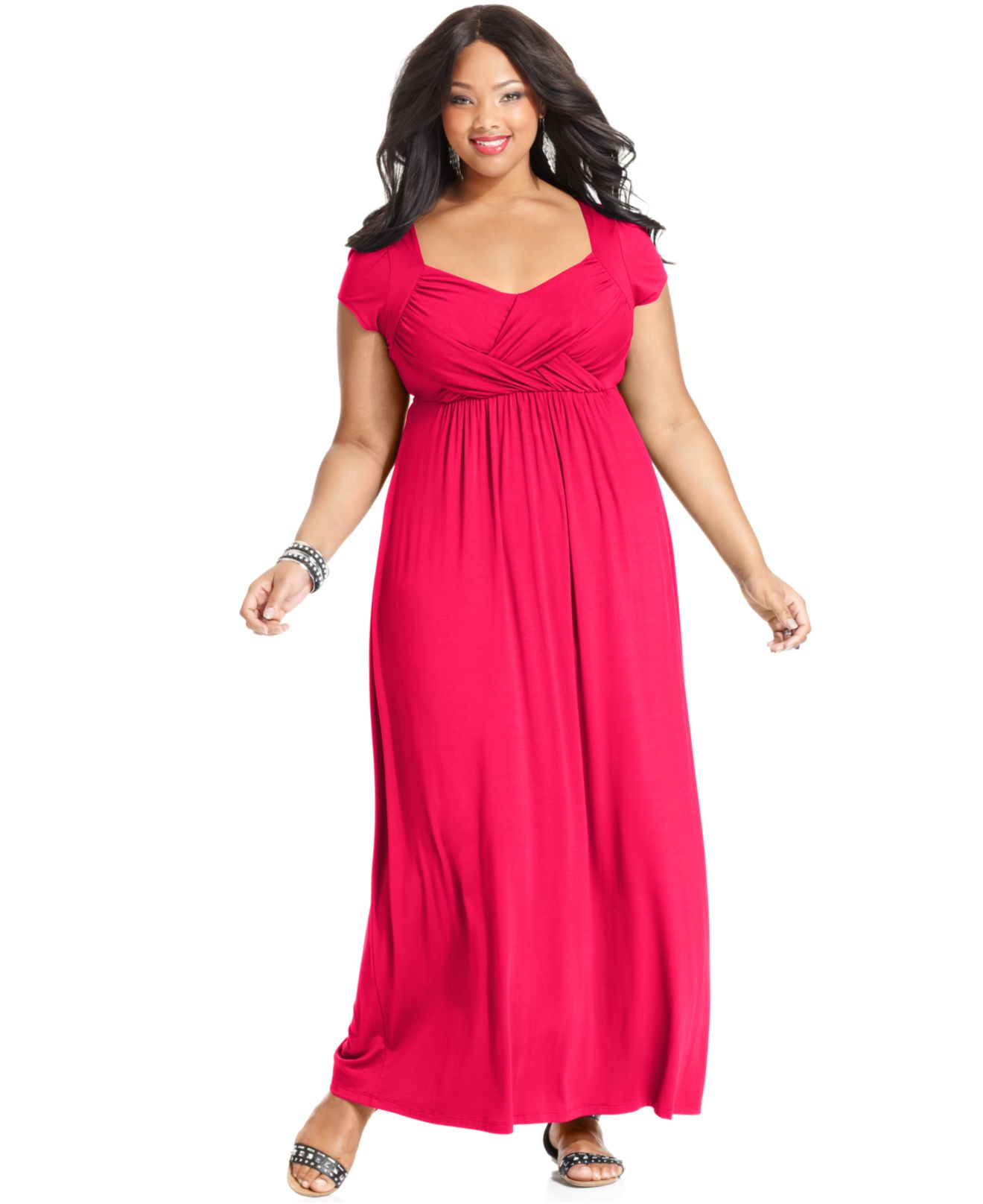 Gallery. Previously sold at  Macy s · Women s Shimmer Dresses Women s Long  ... 6a5bd677b