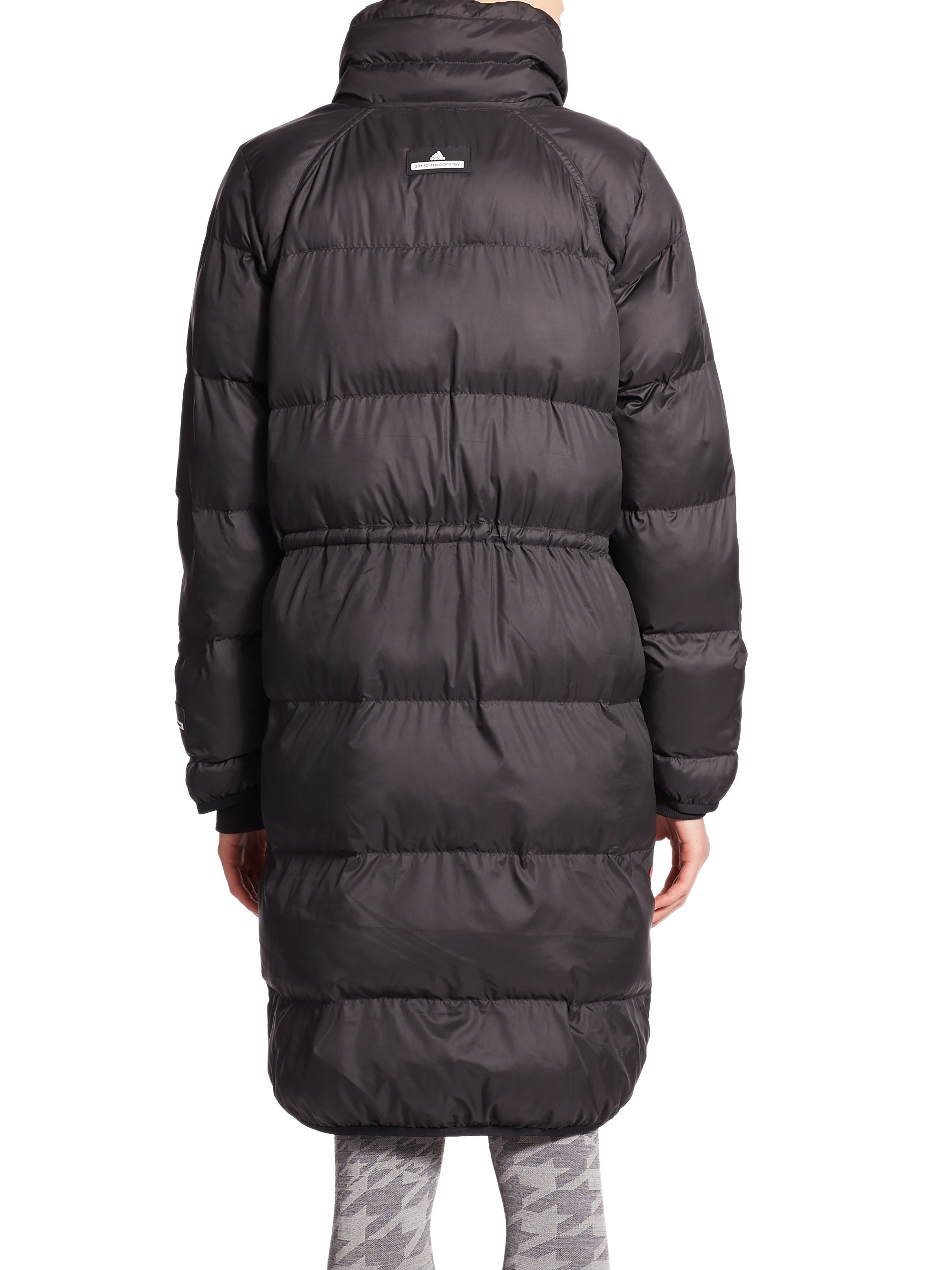 Lyst Adidas By Stella Mccartney By Chaqueta larga Mccartney de Puffer negro en negro 0a606e0 - colja.host