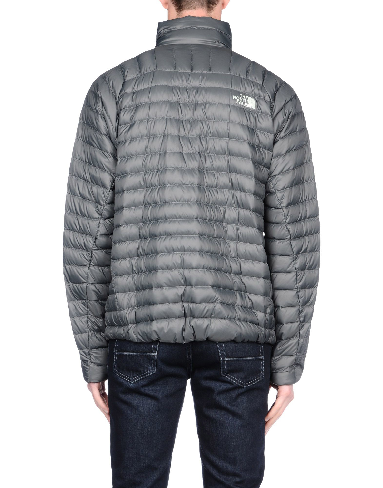 Lyst - The North Face Down Jacket in Gray for Men 866dacd66