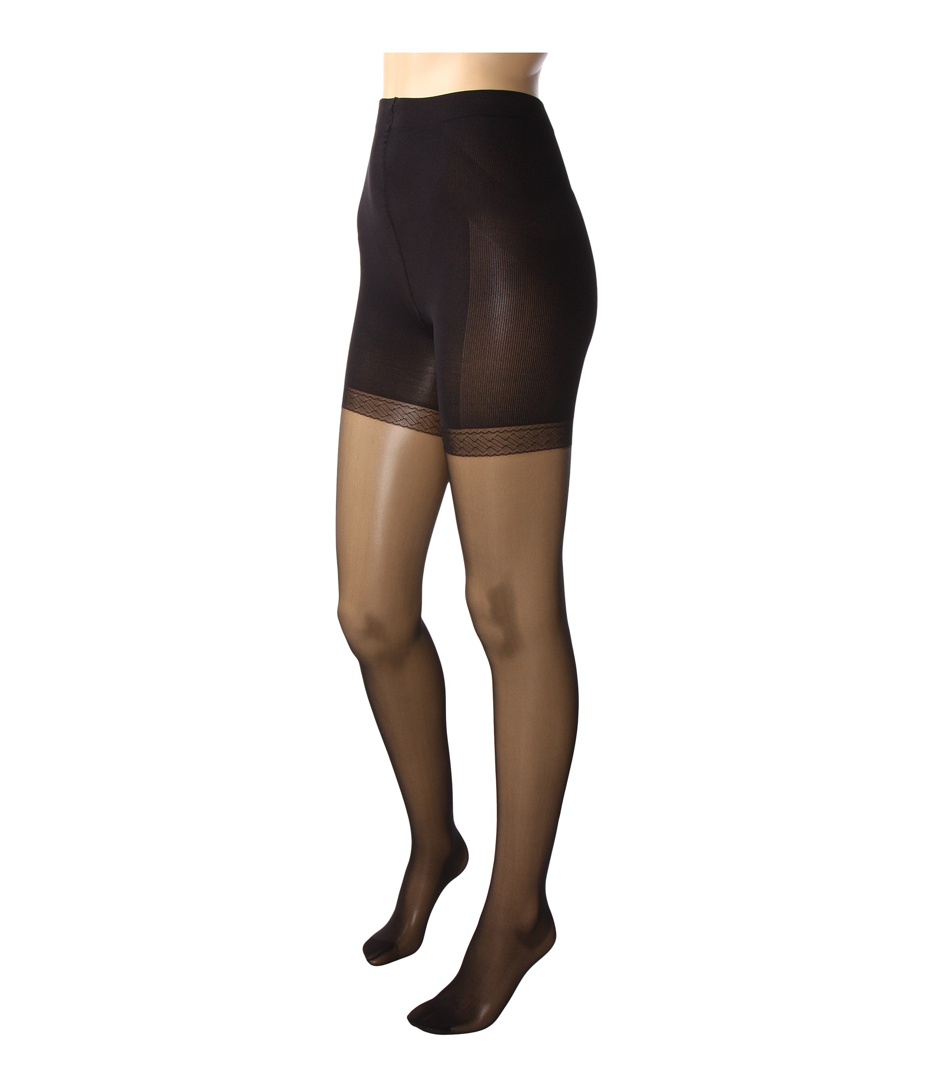90d11b86 Wolford Synergy 20 Push-up Panty Tights in Black - Lyst