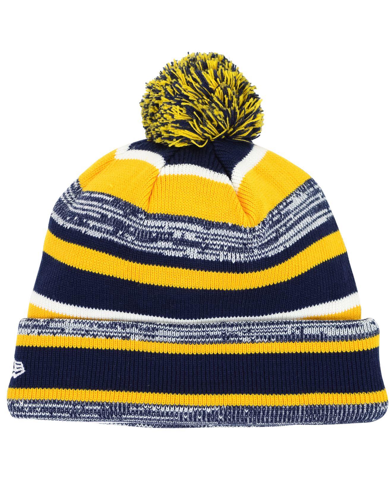 Lyst - KTZ Navy Midshipmen Sport Knit Hat for Men 5f136df02