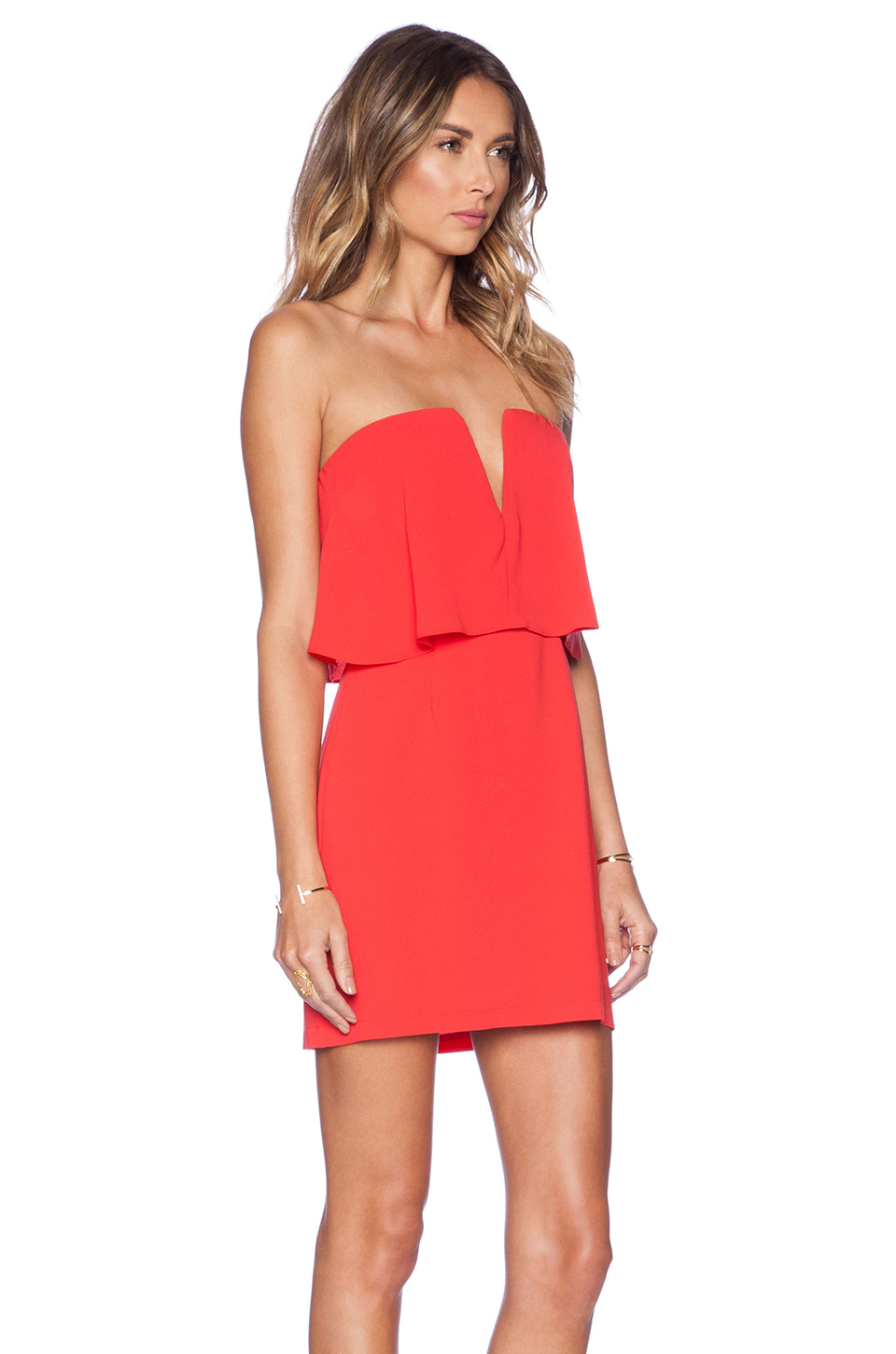 Bcbgmaxazria Kate Dress in Red | Lyst