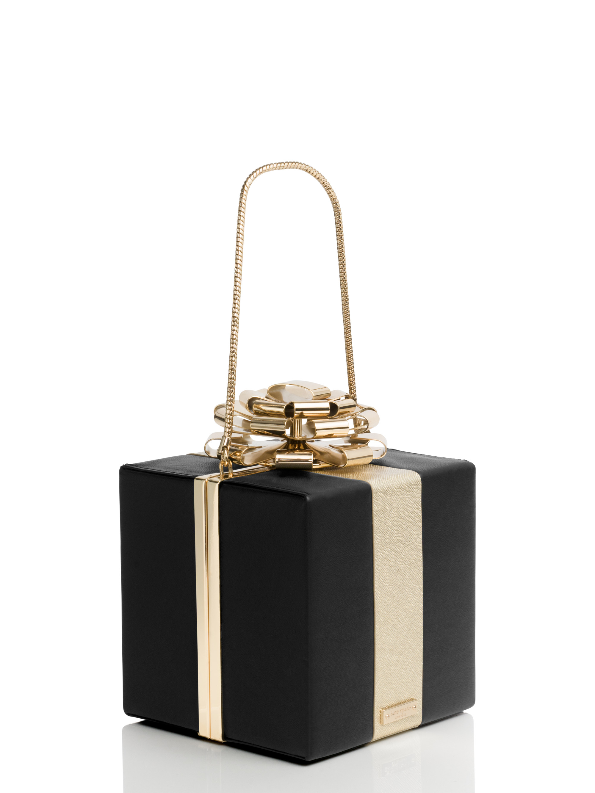 Kate spade new york Square Gift Box Clutch in Black | Lyst Kate Hudson Activewear