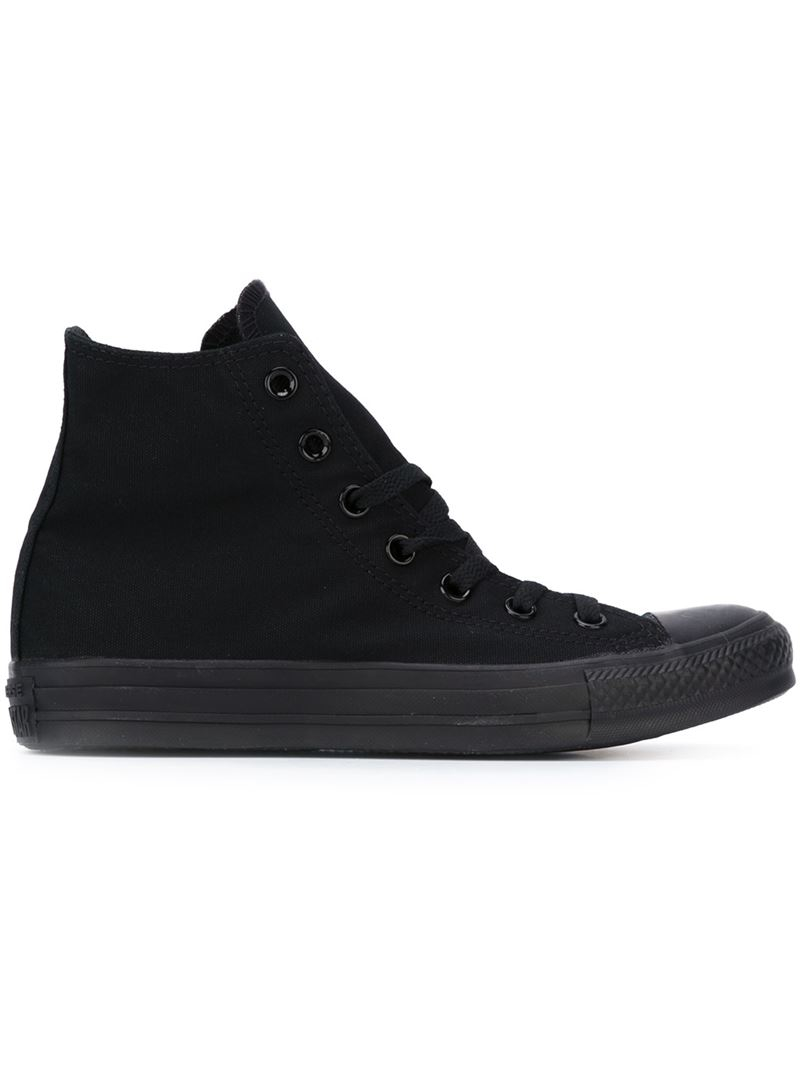 Converse Chuck Taylor All Star Hi Platform Sneakers Shoes Black