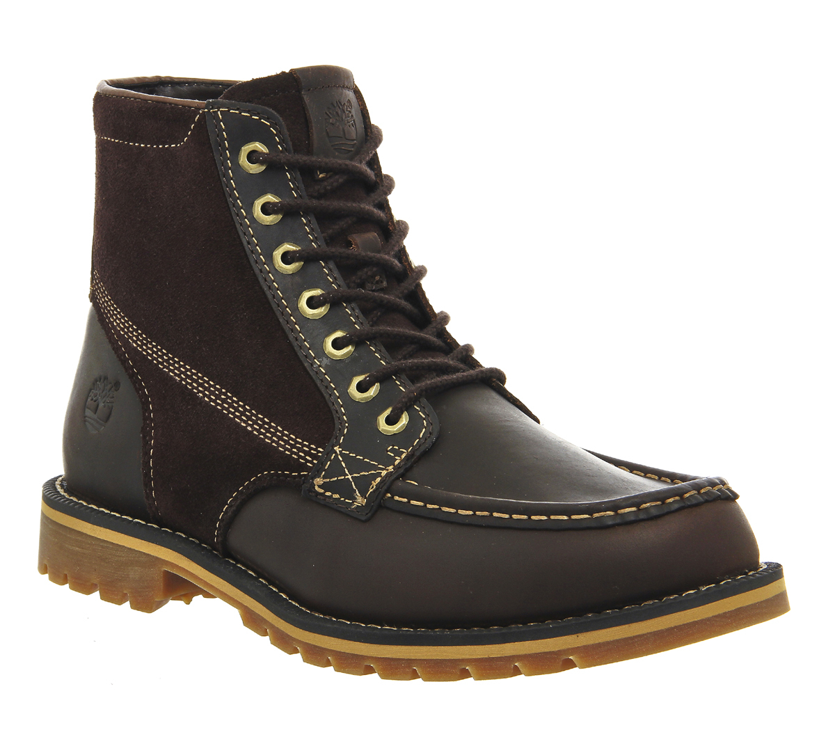 timberland grantly boots in brown for lyst