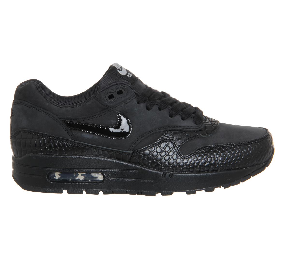 Nike Air Max 1 Black Croc