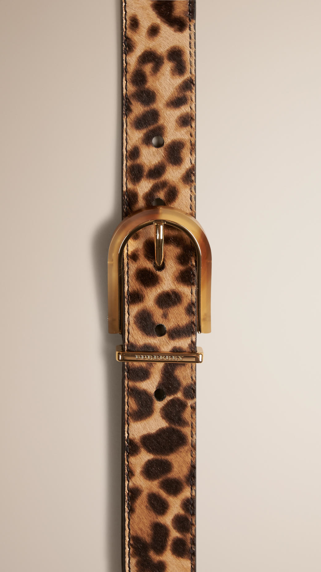purse chloe - georgia bumbag in leopard print haircalf (pony) and smooth calfskin