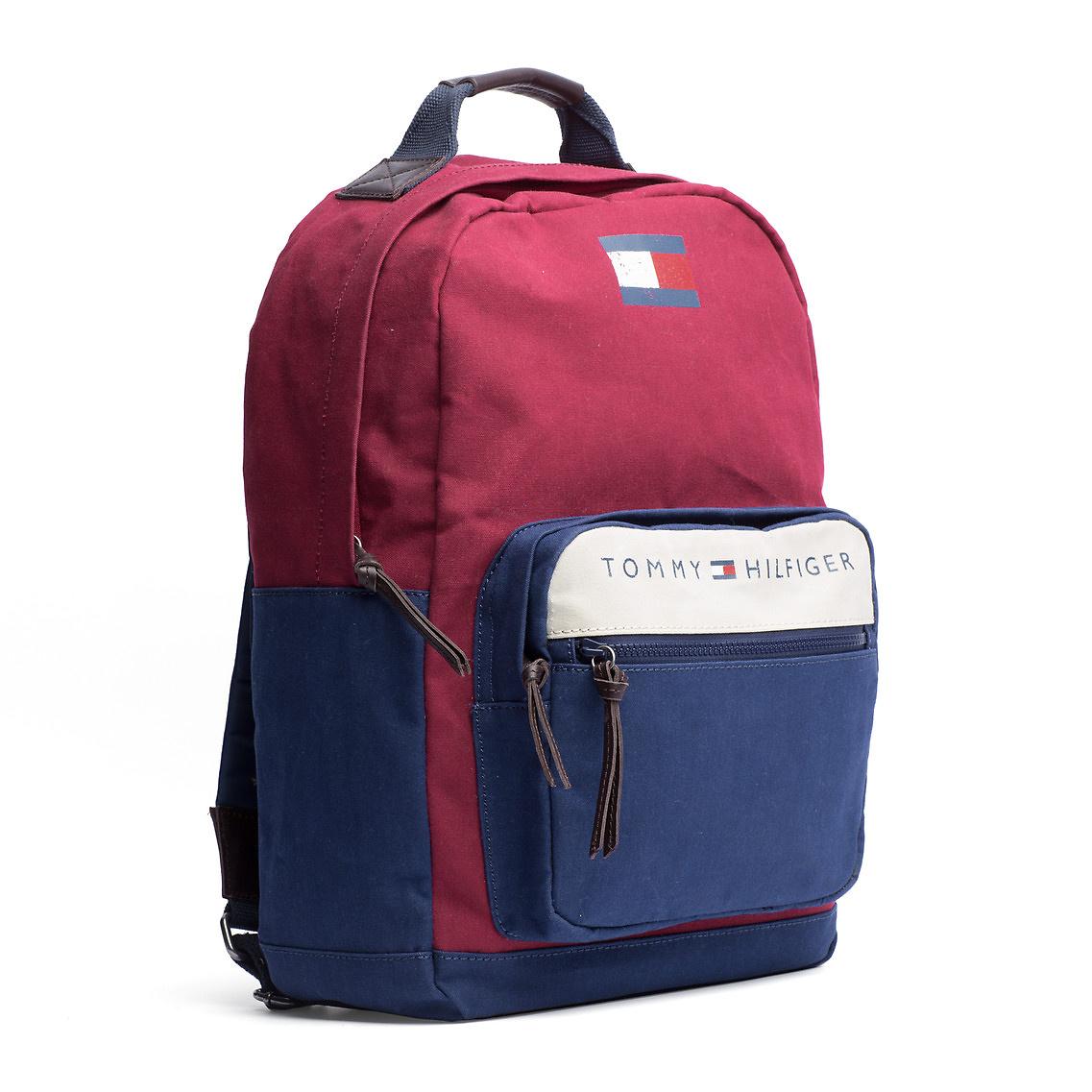 tommy hilfiger lance backpack in blue for men lyst. Black Bedroom Furniture Sets. Home Design Ideas