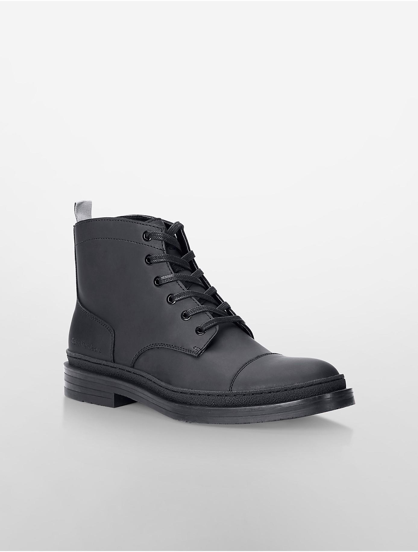 Lyst - Calvin Klein Jeans Navid Boot in Black