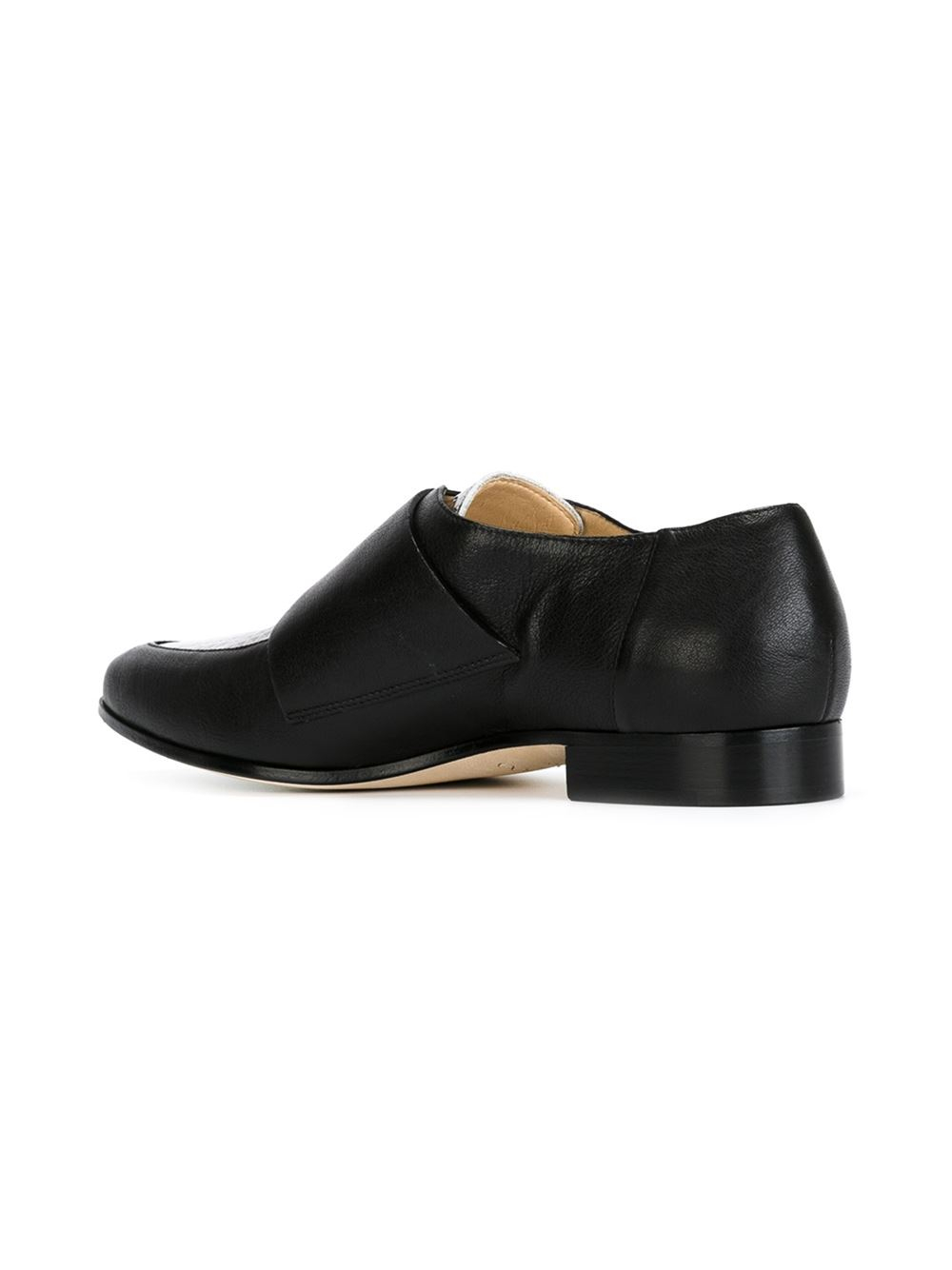 jimmy choo mardi monk shoes in black lyst