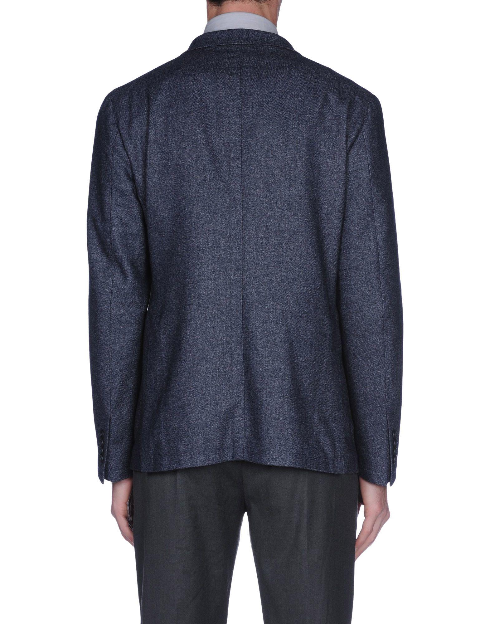 Lyst Tagliatore Blazer In Black For Men