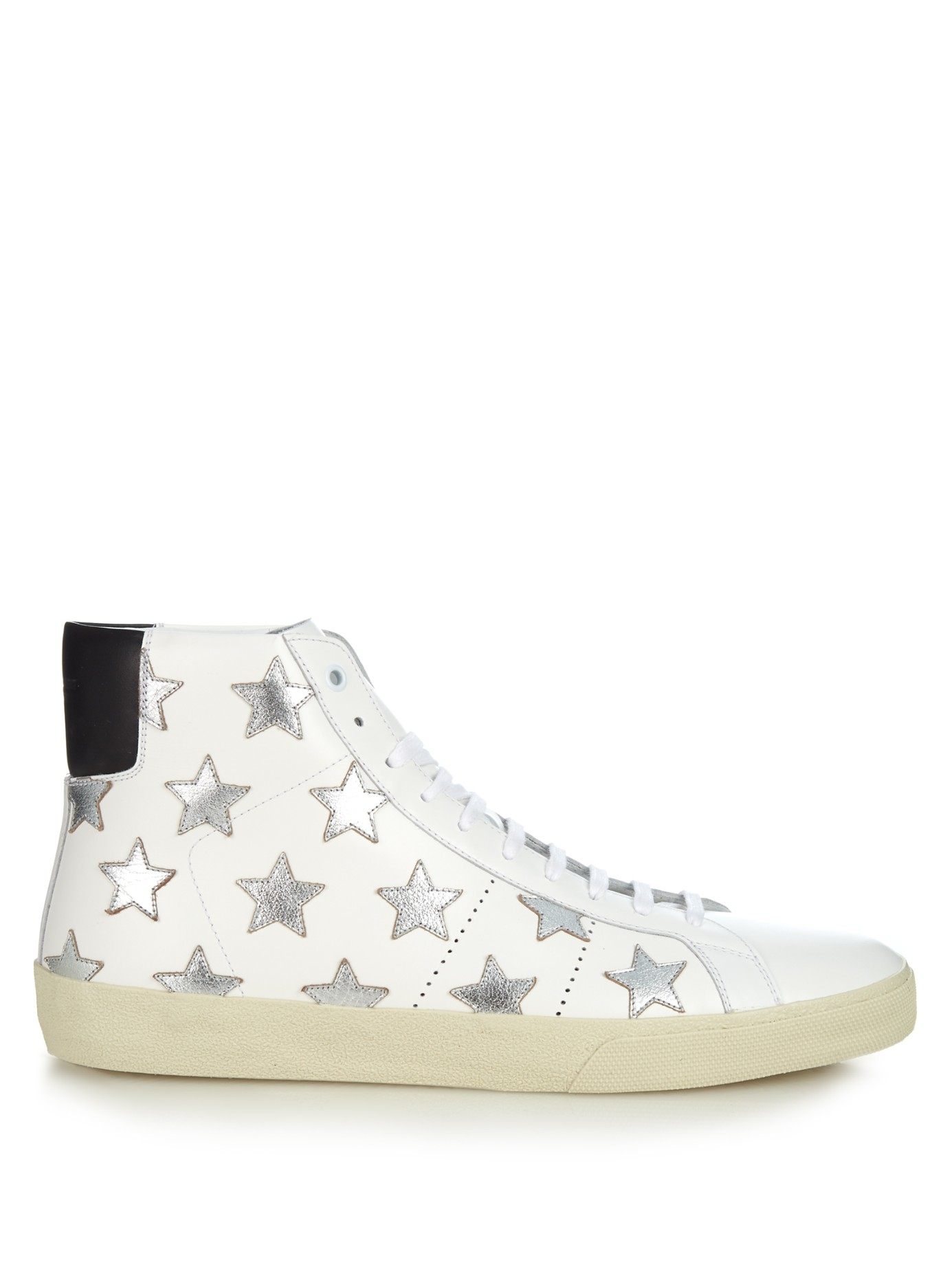 Saint LaurentLeather High Trainers