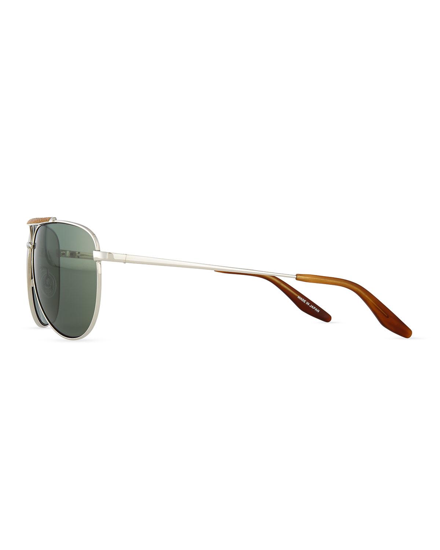 Lyst - Barton Perreira Breed Love Aviator Sunglasses in Green