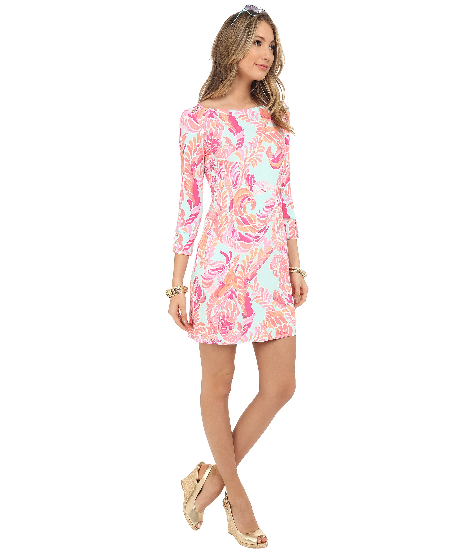Sophie Dress: Lilly Pulitzer Upf 50+ Sophie Dress In Pink