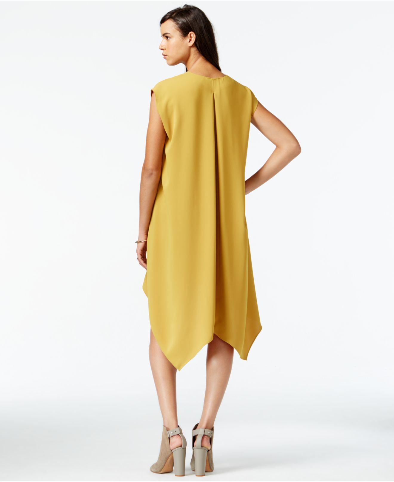 Lyst - RACHEL Rachel Roy Sydney High-low Dress in Yellow 229bb2bba