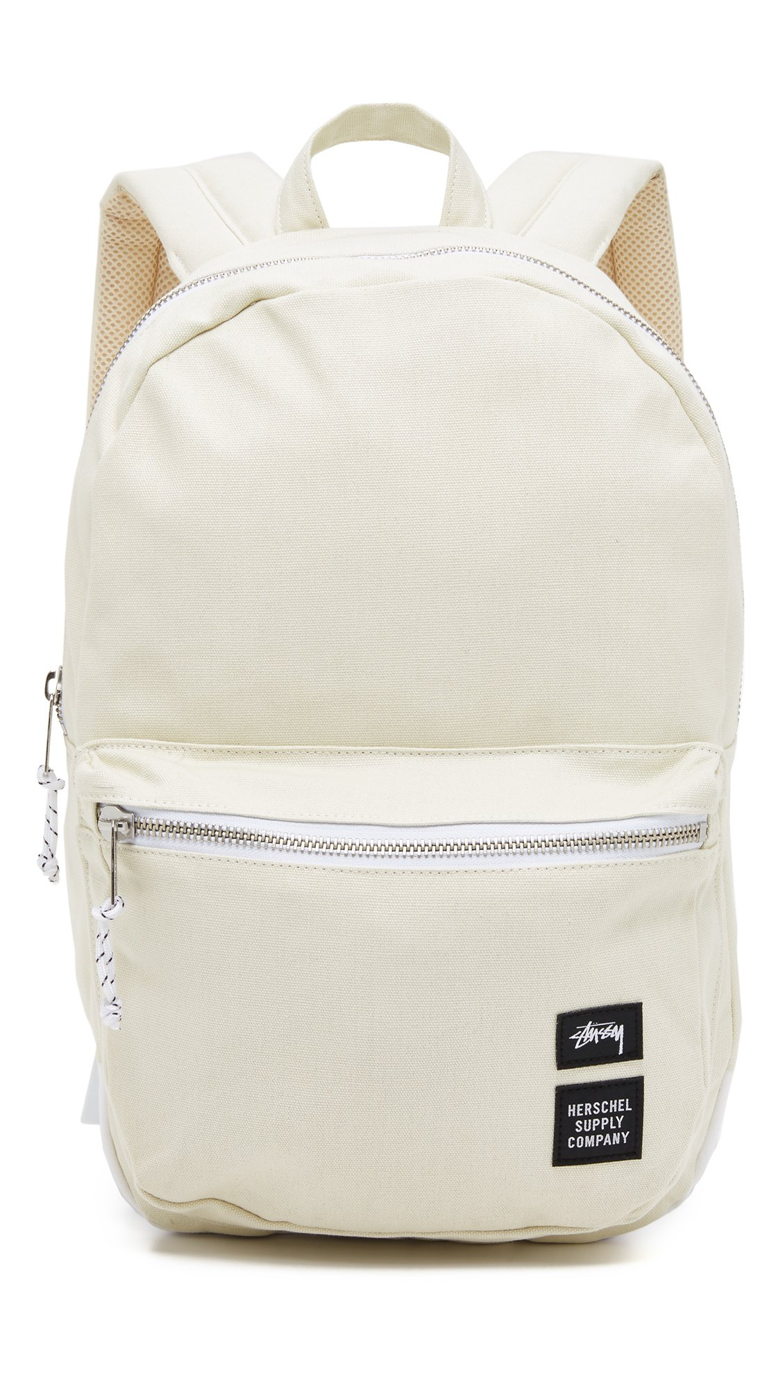 Lyst - Stussy Heavy Canvas Lawson Backpack in White for Men 9a5dfa1916be7