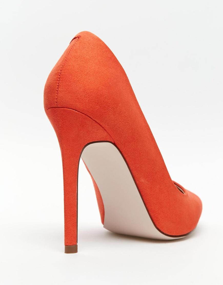 Wide Red Heels