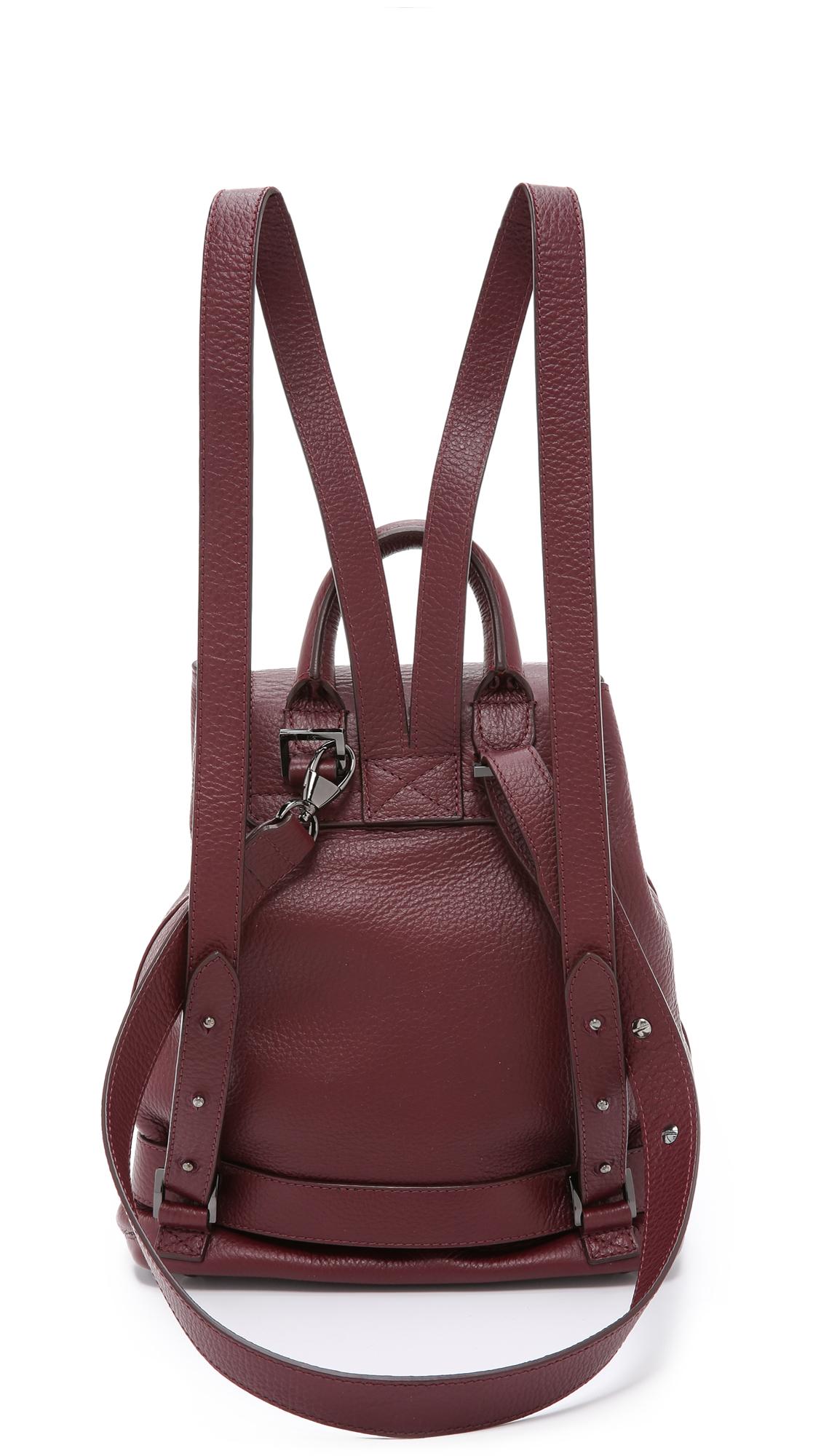 Lyst - meli melo Mini Backpack - Burgundy in Purple 8703916af7e9f