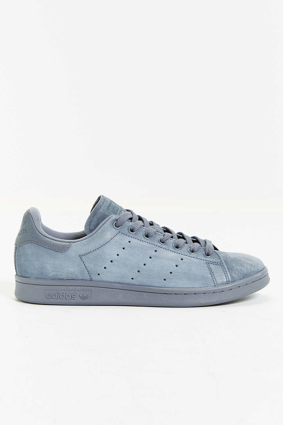 lyst adidas originals suede stan smith sneaker in gray for men. Black Bedroom Furniture Sets. Home Design Ideas
