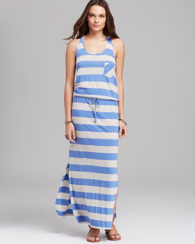 C c california racerback maxi dress