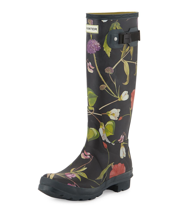Hunter Tall Print Rain Boot vliJLKL