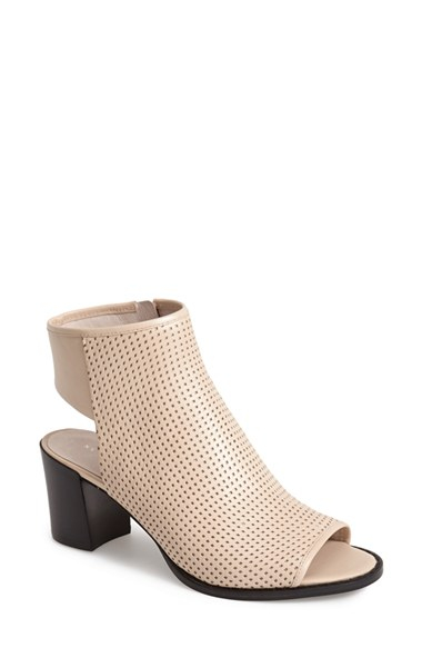 Lyst Kenneth Cole Shay Open Toe Perforated Leather