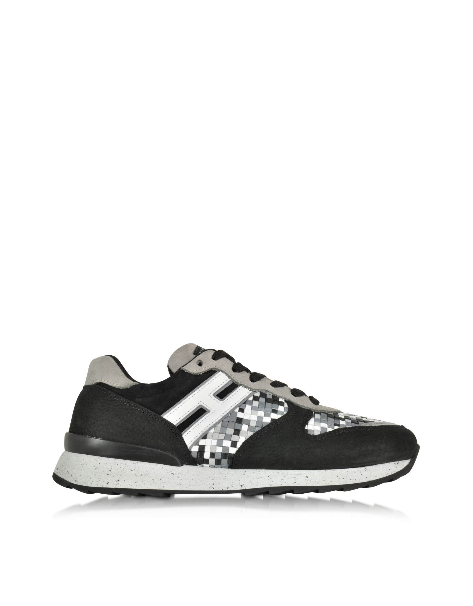 hogan rebel multicolor leather and suede sneaker for men lyst. Black Bedroom Furniture Sets. Home Design Ideas