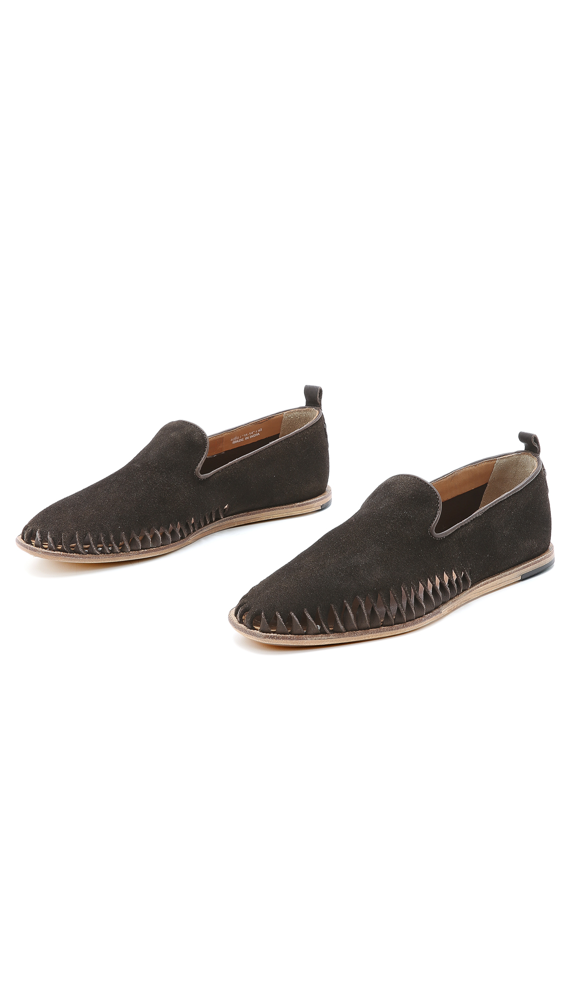 h by hudson ramos slippers in brown for men lyst. Black Bedroom Furniture Sets. Home Design Ideas