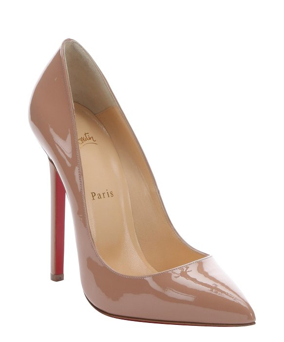 0035045fd61 Christian Louboutin Pigalle 120mm Pumps Nude