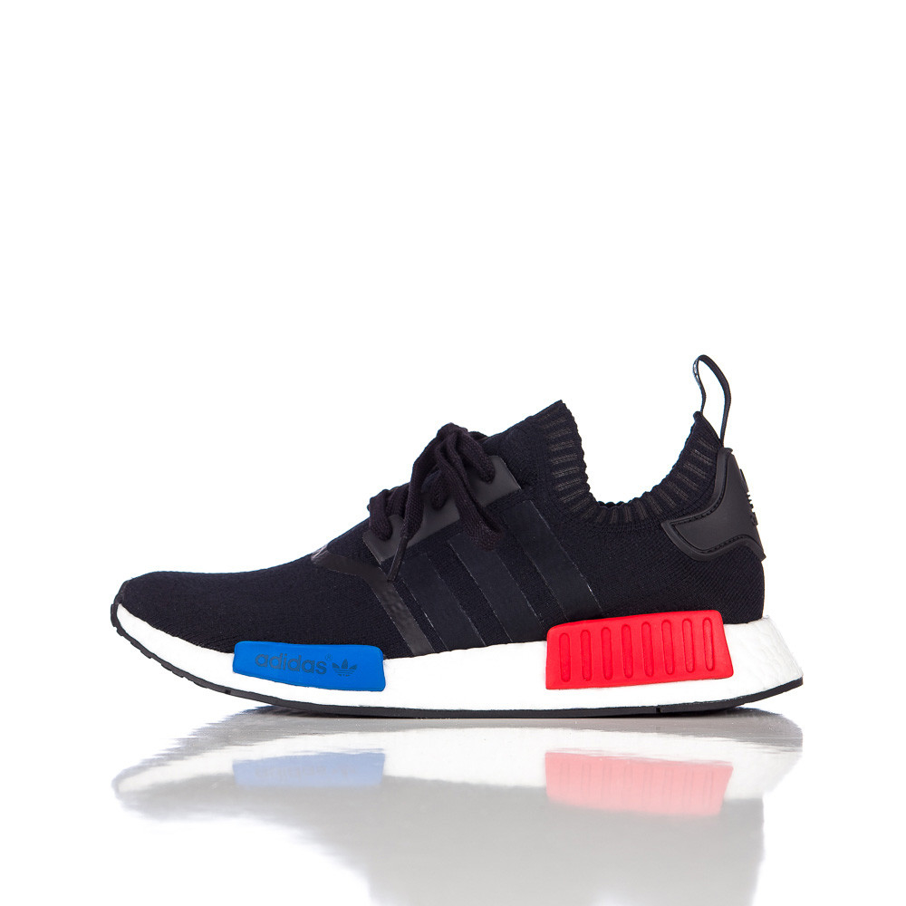 7ec532f2a ... new zealand lyst adidas originals nmd runner primeknit in core black  for men c79bc ec875