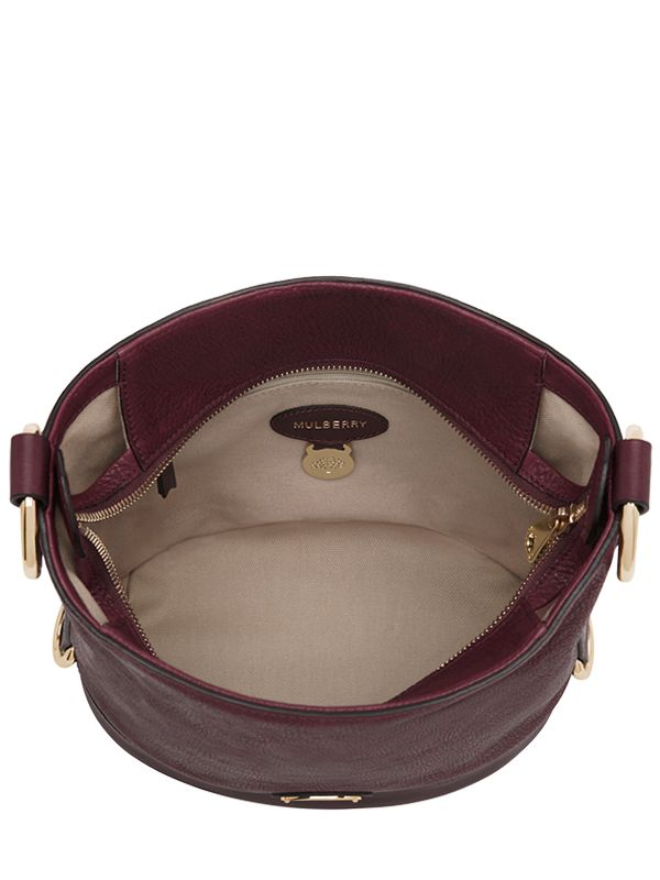 ... cheapest mulberry small jamie washed leather bucket bag in purple lyst  1fc1a 6974d 8965308b86898
