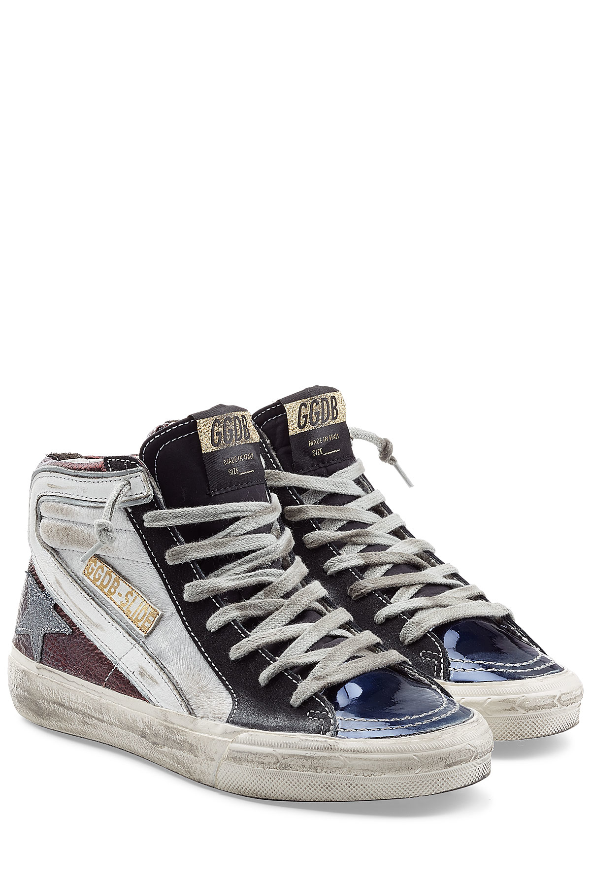 Lyst Golden Goose Deluxe Brand High Top Slide Leather