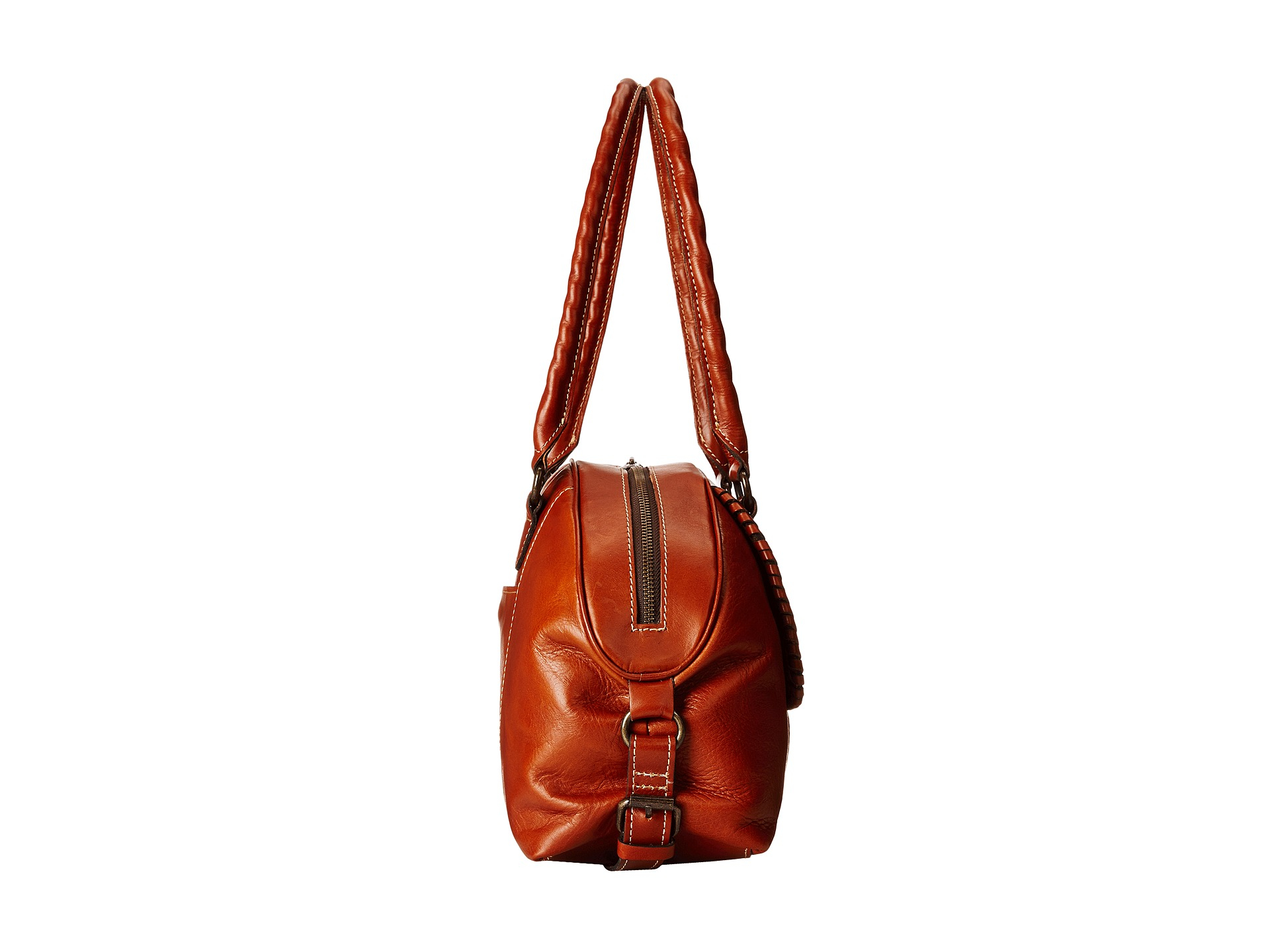 Patricia nash Kavala Satchel in Red (Florence) | Lyst