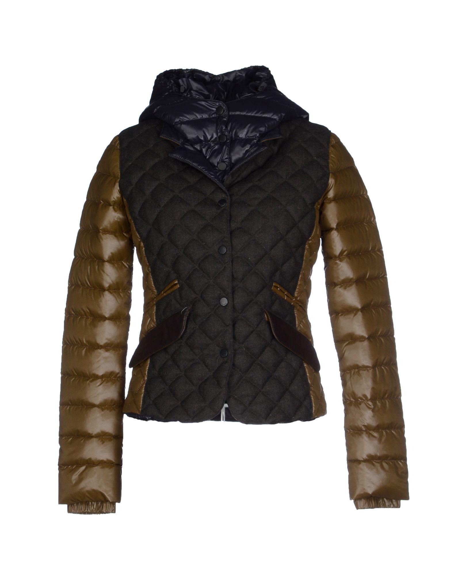 Duvetica Down Jacket In Green Lyst