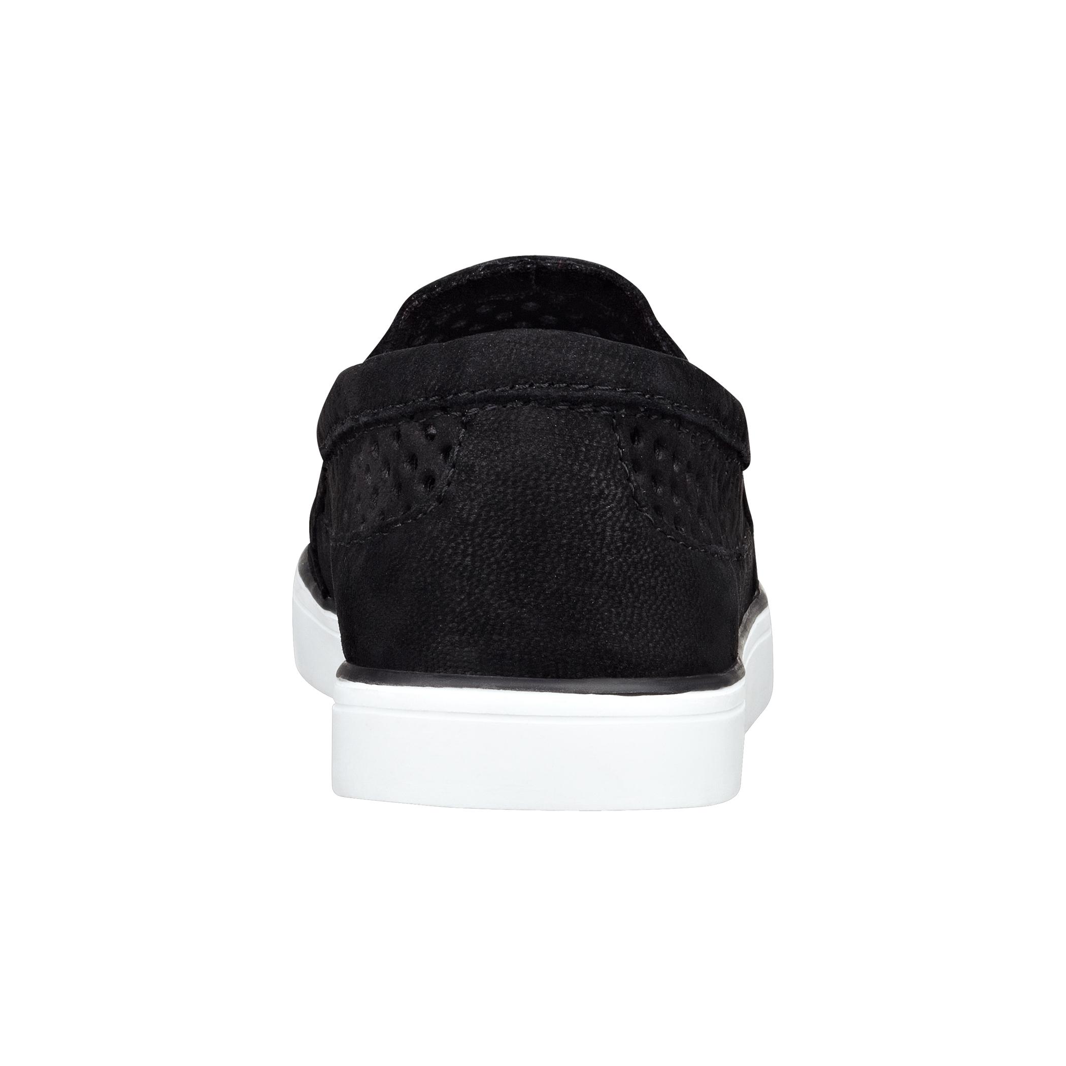 nine west brodie slipon sneakers slip on sneaker in black lyst gallery