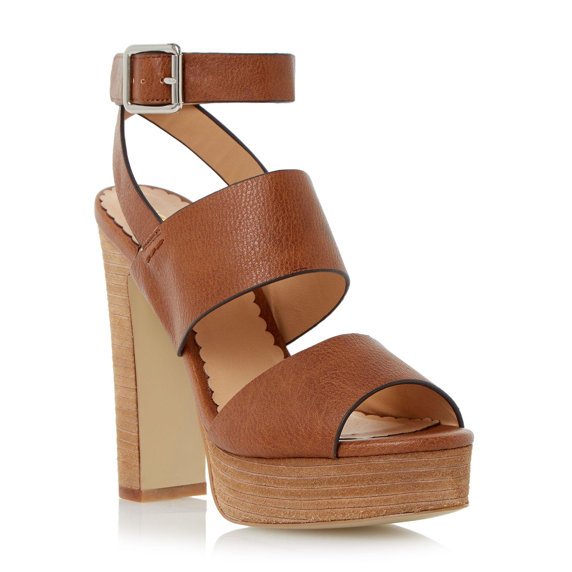 Dune Mosanne Chunky Platform Sandals in Brown   Lyst
