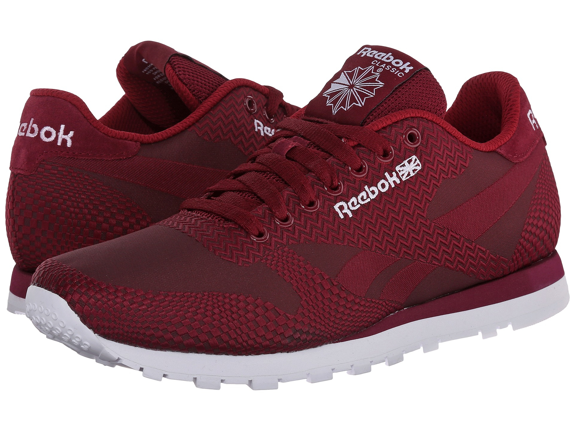 9023b1408658 Lyst - Reebok Classic Runner Jacquard in Red for Men