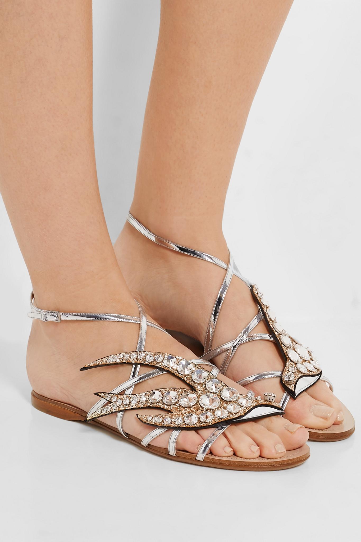 Miu Miu Crystals sandals 3WcCZF