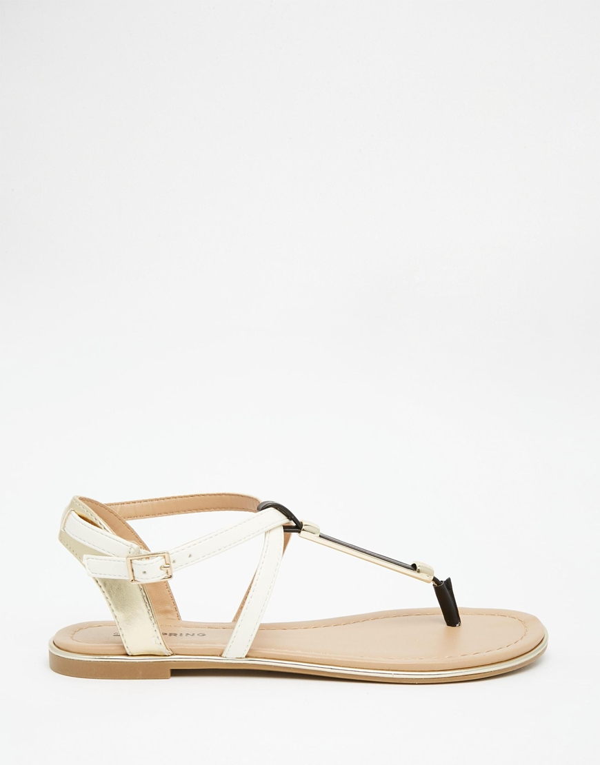 Gold 'Bonus' flat sandals shop for for sale wiki online buy cheap manchester great sale tumblr WAdHX0Cx3J