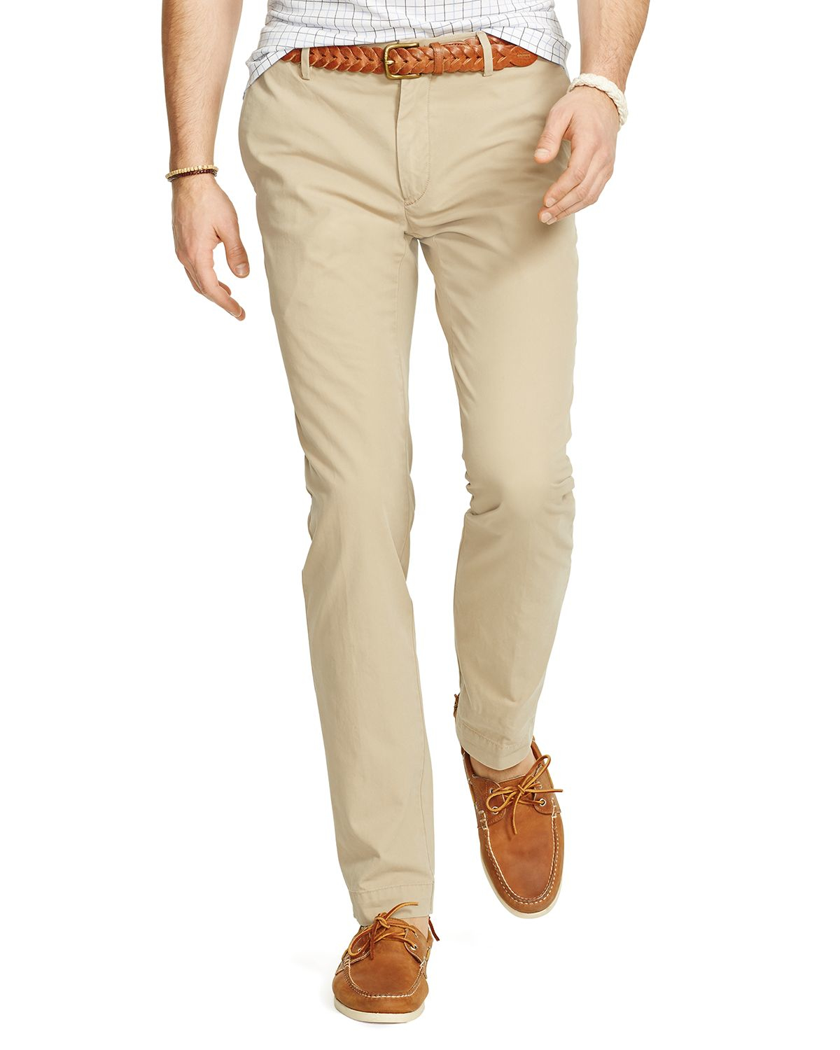 Ralph lauren Polo Newport Slim Fit Chino Pants in Natural for Men ...