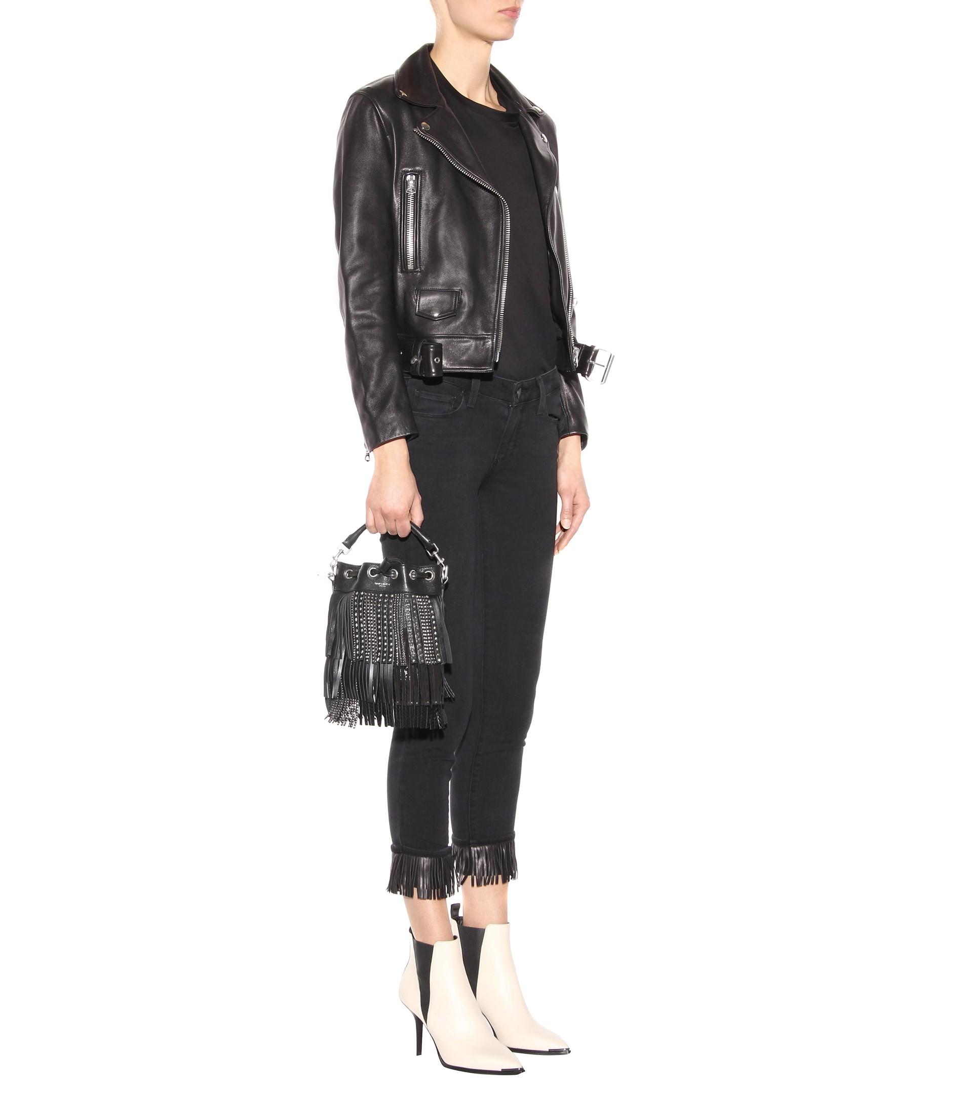 Acne Leather Jemma Booties in . nIjYJ