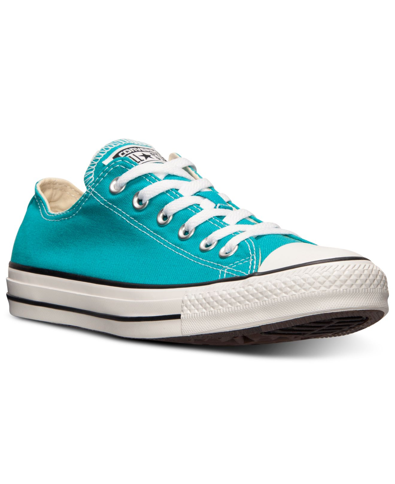 50f228920119ca Lyst - Converse Women S Chuck Taylor Ox Casual Sneakers From Finish ...