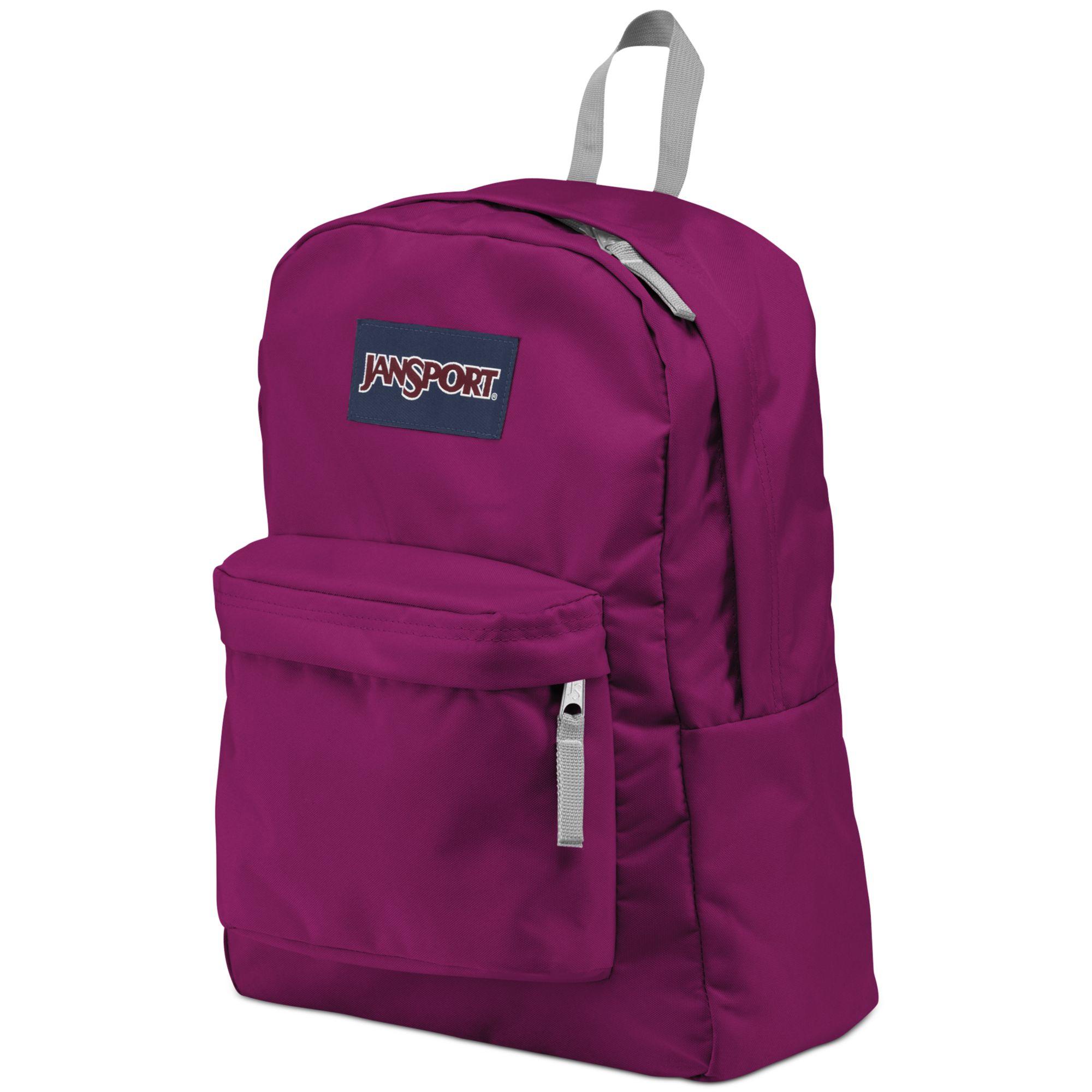 Jansport Superbreak Backpack in Purple for Men