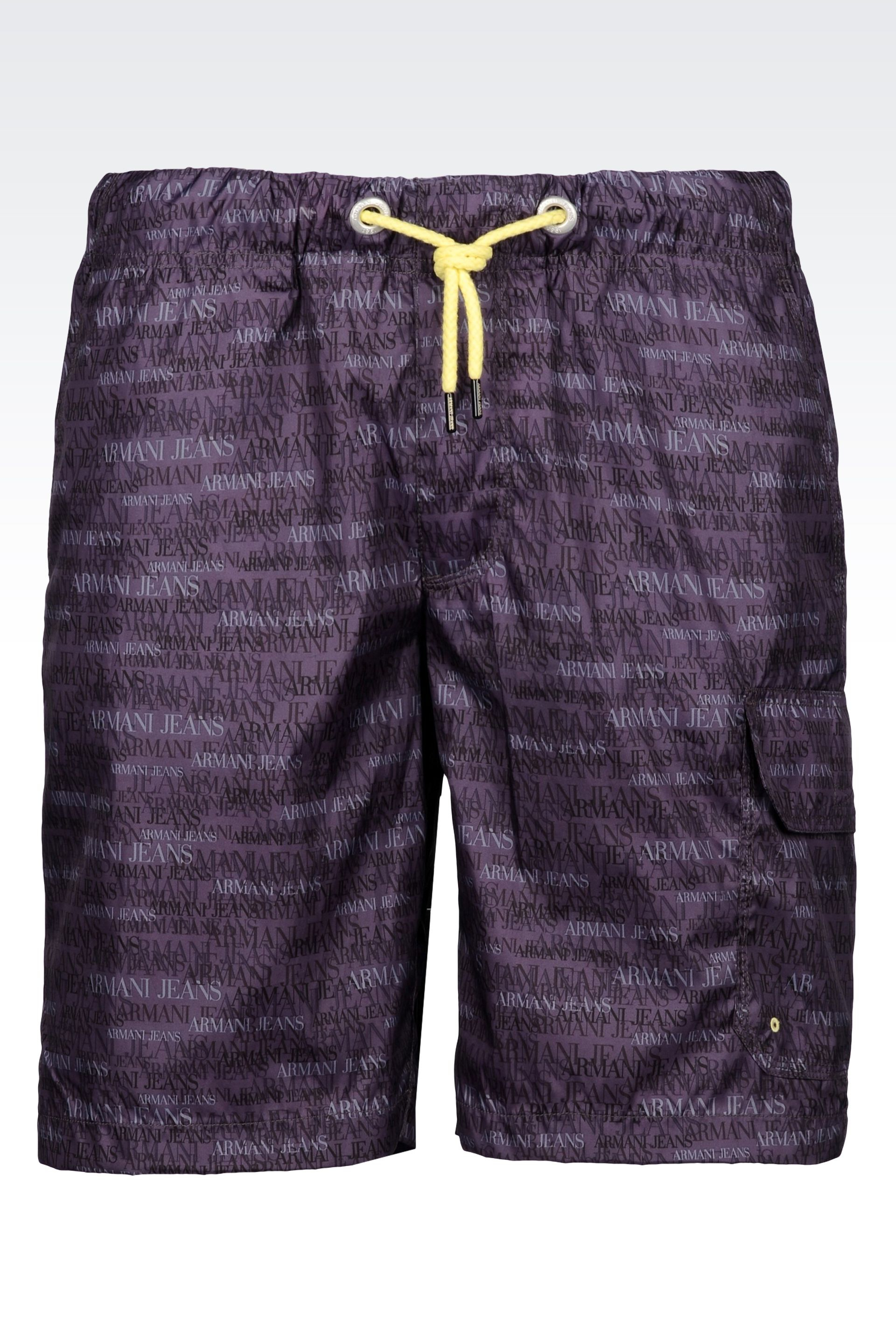 Fabric Patterned Shorts