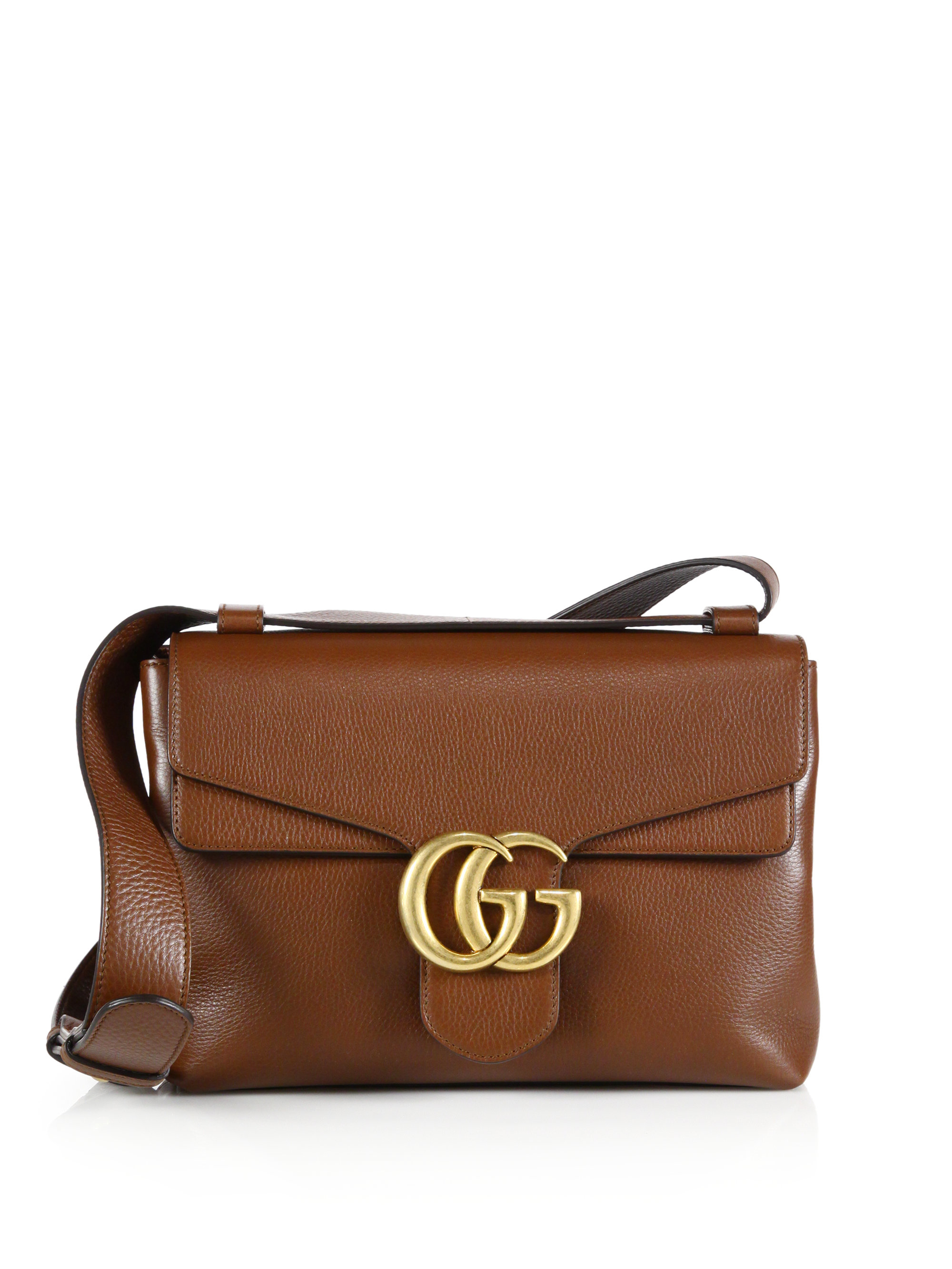 2295b513596c Gucci Marmont White Leather Bag | Stanford Center for Opportunity ...